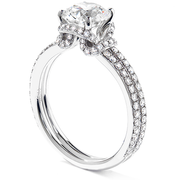 Hearts On Fire Optima Solitaire Engagement Ring