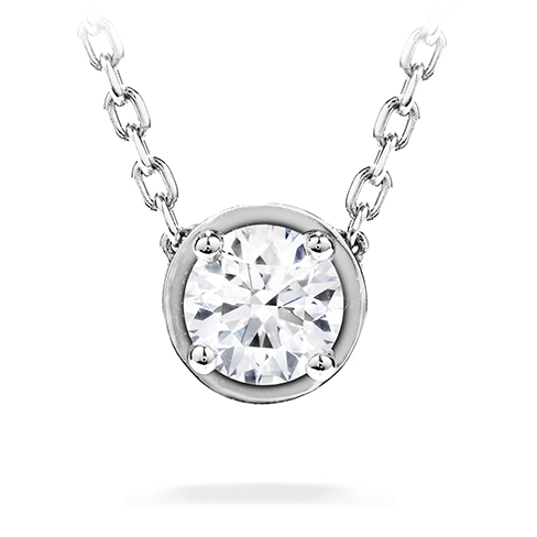 Hearts On Fire Petite Solitaire Pendant Necklace