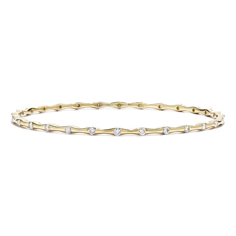 Hearts On Fire Progression Diamond Bangle