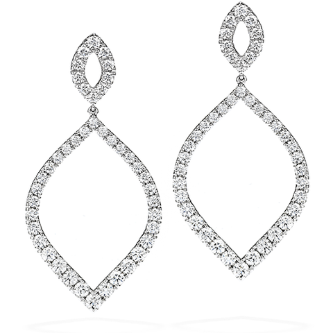 Hearts On Fire Provocative Diamond Drop Earrings