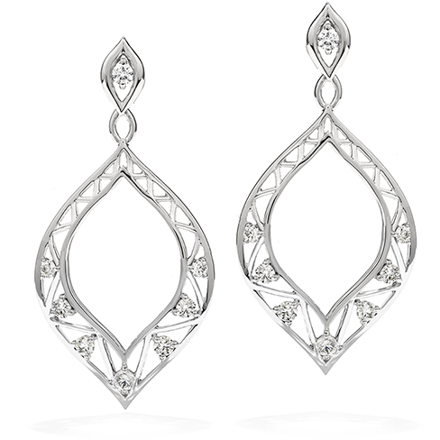 Hearts On Fire Provocative Teardrop Diamond Earrings