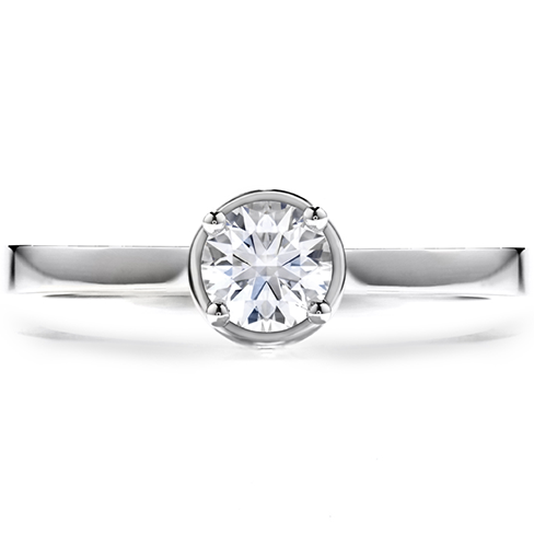 Hearts On Fire Purely Bridal Four Prong Solitaire Ring