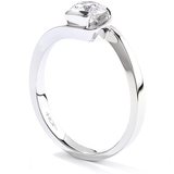 Hearts On Fire Purely Bridal Rose Solitaire Engagement Ring