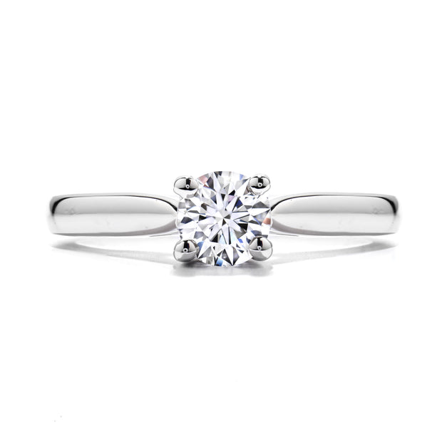 "Hearts On Fire Purely ""V"" Solitaire Engagement Ring"