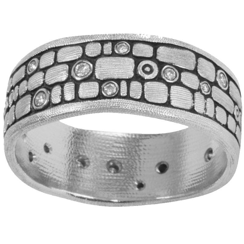 Alex Sepkus Stone Wall Ring - R-125PD