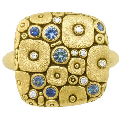 Alex Sepkus Soft Mosaic Dome Ring - R-138SB