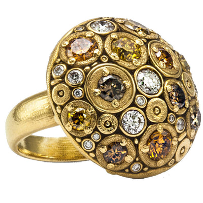 Alex Sepkus Blooming Hill Dome Ring - R-145DC