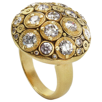 Alex Sepkus Blooming Hill Dome Ring - R-145D