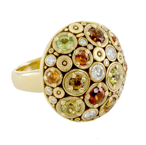 Alex Sepkus Blooming Hill Dome Ring - R-145S
