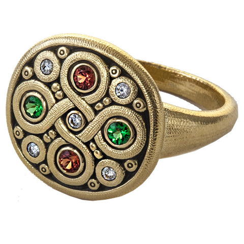 Alex Sepkus Celtic Spring Dome Ring - R-161S