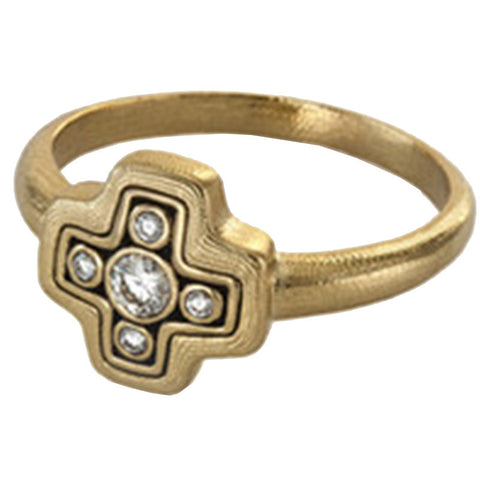 Alex Sepkus Little Cross Dome Ring - R-162R
