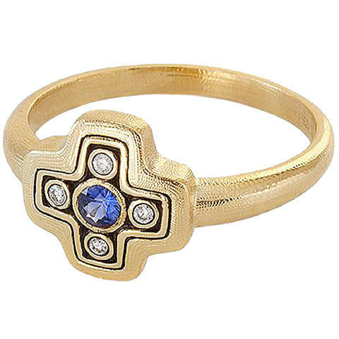 Alex Sepkus Little Cross Dome Ring - R-162S