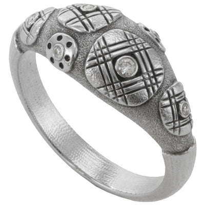 Alex Sepkus Tartan Ring - R-164PD