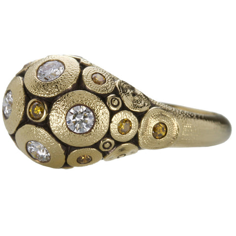 Alex Sepkus Lillies Dome Ring - R-173DC