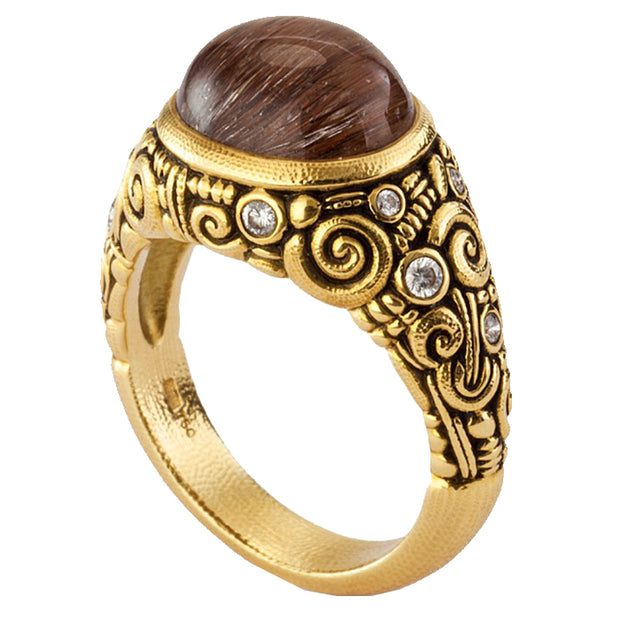 Alex Sepkus Cabochon Oval Ring - R-33M