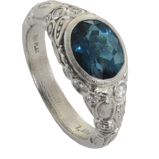 Alex Sepkus Cabochon Ring - R-54PM