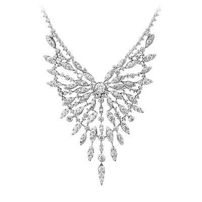Hearts On Fire White Kites Flight Diamond Necklace