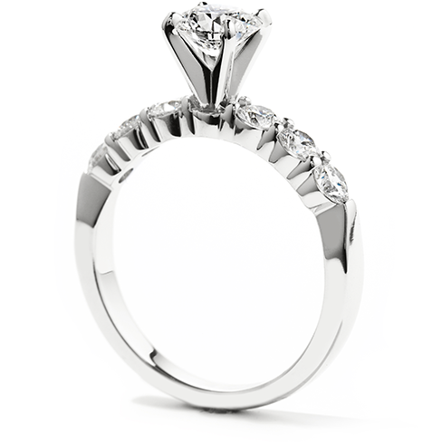 Hearts On Fire Seven Stone Engagement Ring