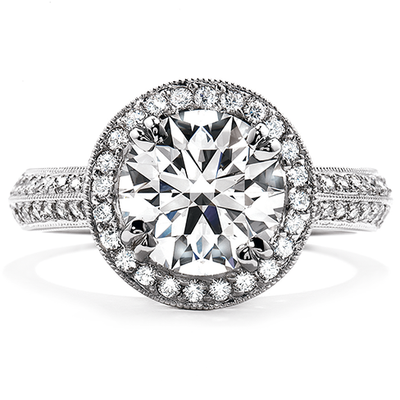 Hearts On Fire Significance Engagement Ring