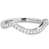 Hearts On Fire  Significance Curved Diamond Band