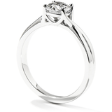 Hearts On Fire Simply Bridal Twist Solitaire Diamond Engagement Ring