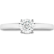 Hearts On Fire Simply Bridal Solitaire Diamond Engagement Ring