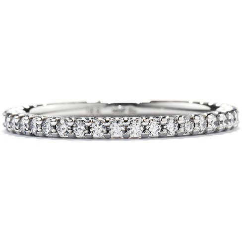 Hearts On Fire Simply Bridal Wedding Band