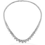 Hearts On Fire Temptation Three-Prong Necklace