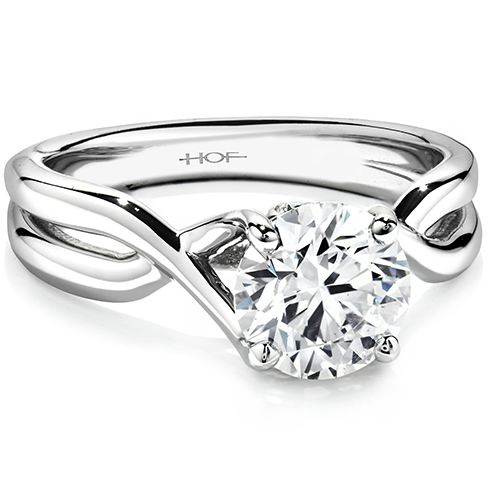 Hearts On Fire Timeless Solitaire Engagement Ring