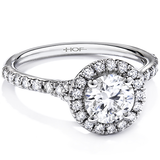 Hearts On Fire Transcend Diamond Engagement Ring