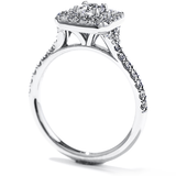 Hearts On Fire Transcend Double Halo Dream Engagement Ring