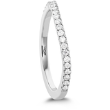 Hearts On Fire Transcend Premier Curved Diamond Band