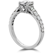 Hearts On Fire Transcend Premier Diamond Engagement Ring