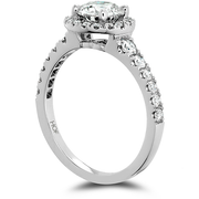 Hearts On Fire Transcend Premier Halo Diamond Engagement Ring