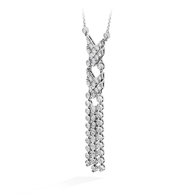 Hearts On Fire Triplicity Fringe Diamond Necklace