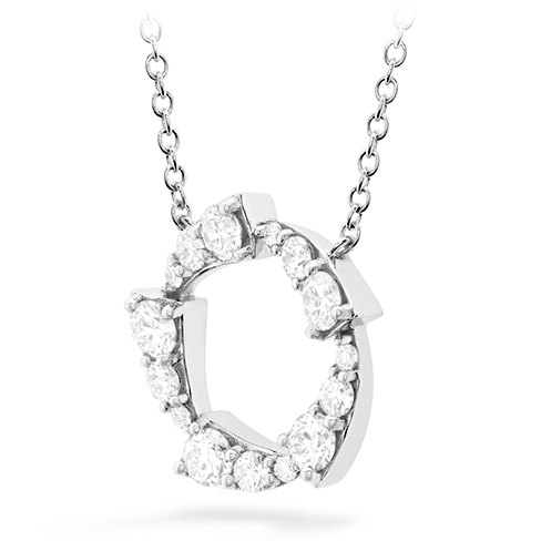 Hearts On Fire Triplicity Circle Diamond Necklace