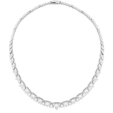 Hearts On Fire Triplicity Diamond Line Necklace