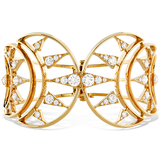 Hearts On Fire Triplicity Golden Cuff