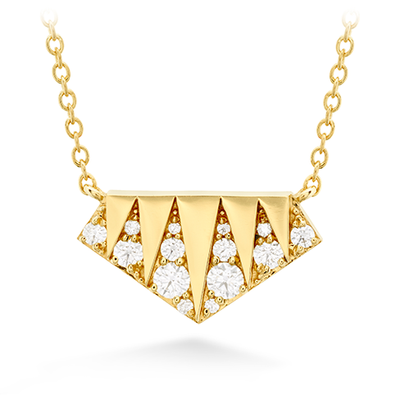 Hearts On Fire Triplicity Golden Diamond Necklace