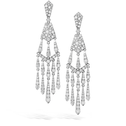Hearts On Fire Triplicity Tassel Drop Diamond Earrings