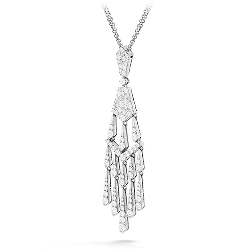 Hearts On Fire Triplicity Tassel Drop Diamond Necklace