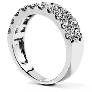 Hearts On Fire Truly Classic Double-Row Wedding Band