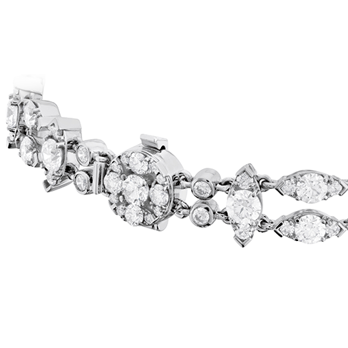 Hearts On Fire Whimsical Double Row Diamond Bracelet