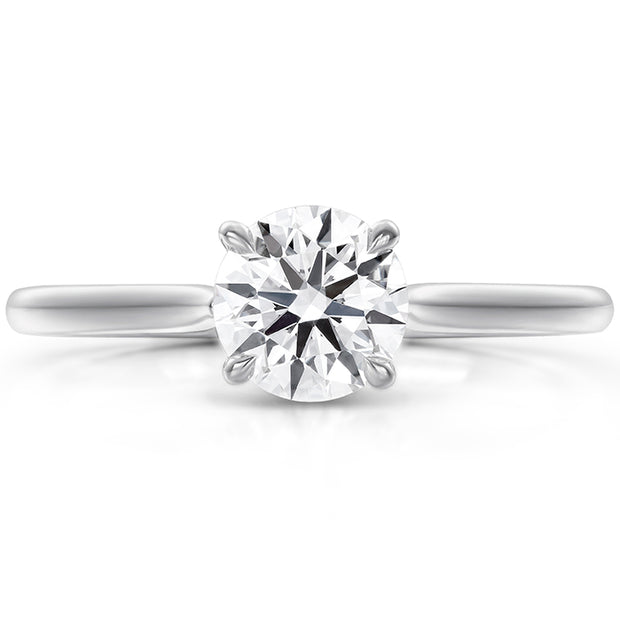 Hearts On Fire Camilla 4 Prong Diamond Engagement Ring