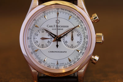 Carl F. Bucherer Manero Tribute to Mabu Red Gold Watch - 91 of 100