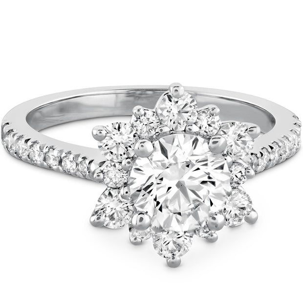 Hearts On Delight Lady Di Diamond Engagement Ring