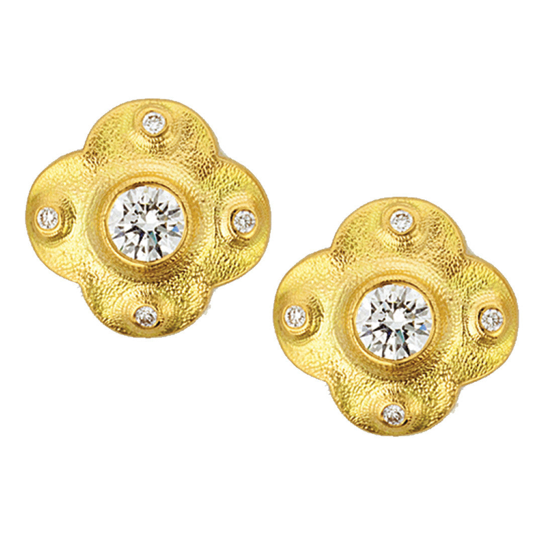 Alex Sepkus Cross Earrings - E-217D