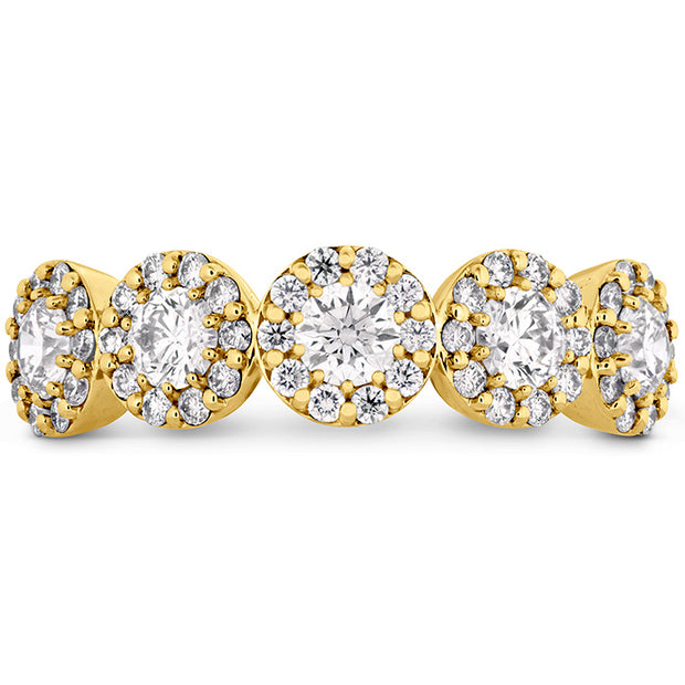 Hearts On Fire Fulfillment Round Diamond Band
