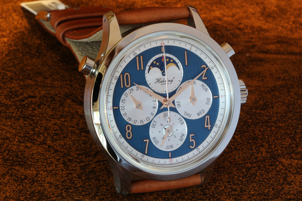 HABRING² SS Perpetual-Doppel Watch