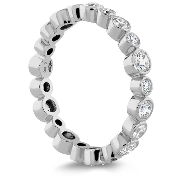 Hearts On Fire Bezel Diamond Eternity Band